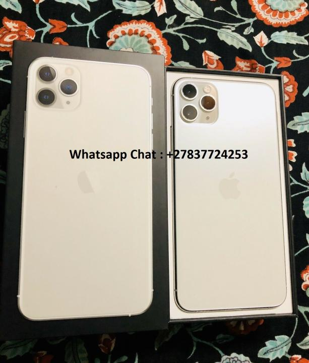 Apple iPhone 11 Pro 64GB = €600,iPhone 11 Pro Max 64GB = €650 ,iPhone XS 64GB = €400 , iPhone XS Max 64GB = €400 ,  Whatsapp Chat : +27837724253