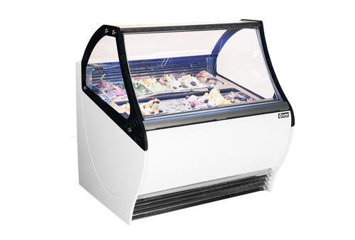 Commercial Ice Cream Freezer Have A Larger Display Area