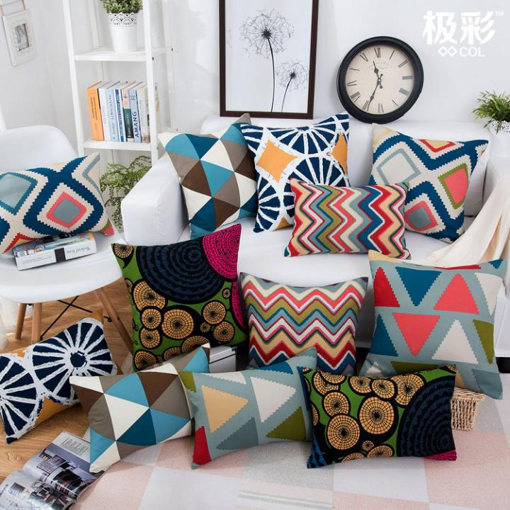 Pillowcase samples are associated with home style