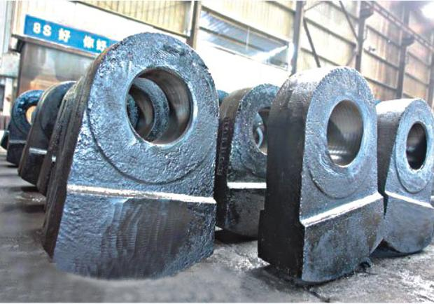 High Manganese Steel Castings have excellent wear resistance